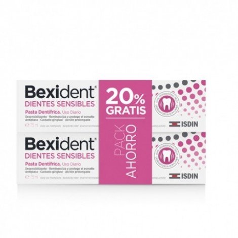 Bexident Duplo dientes sensibles 2x75ml