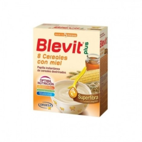 Blevit Plus 8 cereales Superfibra con miel