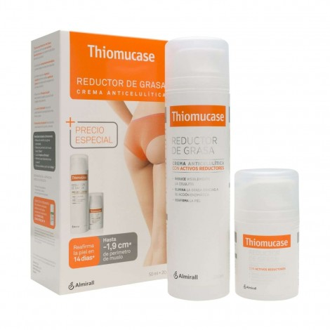 Thiomucase Reductor de grasa pack 200 ml + 50 ml