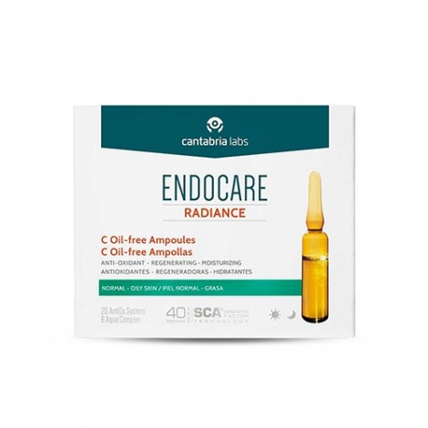 Endocare Radiance C Oil Free 30 ampollas 2 ml