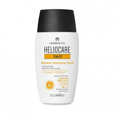 Heliocare 360º Mineral tolerance fluid SPF 50 50ml