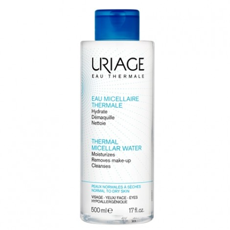 Uriage Agua Micelar Termal pieles normales a secas 500ml