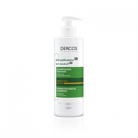 Vichy Dercos champú anticaspa pelo normal graso 390 ml