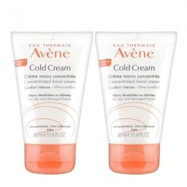 Avene Cold cream crema de manos duplo 2x50ml