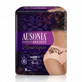 Ausonia Discreet Boutique plus talla grande 8 uds