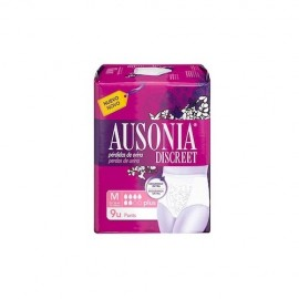 Ausonia Discreet pants plus talla M 9 uds