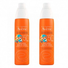 Avéne Duplo Spray solar niños SPF50+ 2x200ml