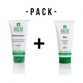 Biretix Pack Gel 50ml + Gel Limpiador purificante 150ml