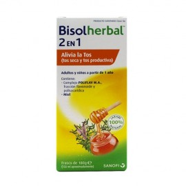 Bisolherbal 2 en 1 180gr