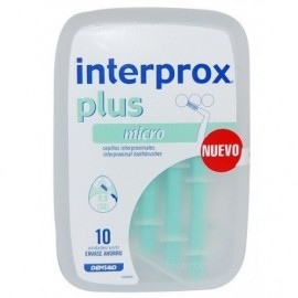 Interprox cepillo plus micro 10 uds