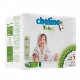 Chelino Nature pañales talla 5 13-18kg 30uds