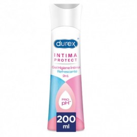 Durex Intima Protect gel refrescante 2 en 1 200ml