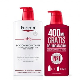 Eucerin PH5 Loción Hidratante + 400ml regalo