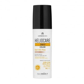 Heliocare 360° Color Beige Gel Oil Free SPF 50+ 50ml