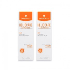 Heliocare Advanced Gel protector solar SPF50 Pack Duplo