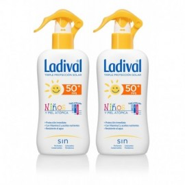 Ladival Niños protector solar spray SPF50+ duplo 2x200ml