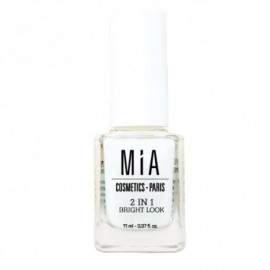 Mia Cosmetics 2 in 1 bright look tratamiento uñas 11 ml