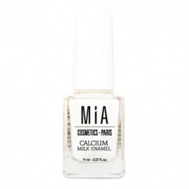 Mia Cosmetics calcium milk enamel tratamiento uñas 11 ml