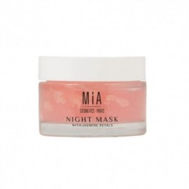 Mia Cosmetics night mask with jasmine petals