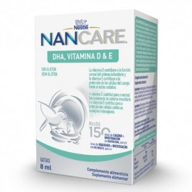 Nestlé NanCare DHA vitamina D&E 8ml