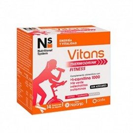 NS Vitans Thermodrink Fitness 14 sobre