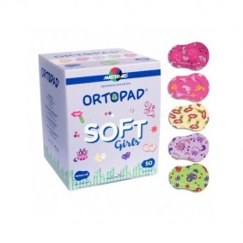 Ortopad Soft girls medium 50 uds niña talla M