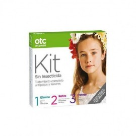 OTC Kit 1 2 3 antipiojos sin insecticida 125 ml