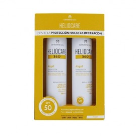 Pack Heliocare 360º Airgel SPF50+ 2x200ml