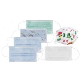 Pack Mascarillas quirúrgicas infantiles azules 52 uds