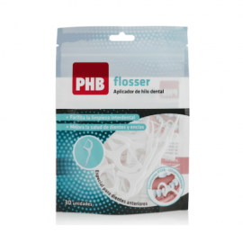 PHB Flosser Plus aplicador de hilo dental 30 uds