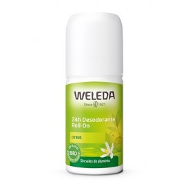 Weleda Desodorante roll-on 24h de citrus 50ml