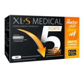 XLS Medical Forte 5 Nudge plan 180 cápsulas
