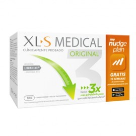 XLS Medical Original Nudge plan 180 cápsulas